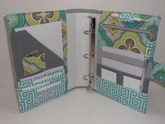 5.5 x 8.5 - 3 Ring Binder Cover - Organizer