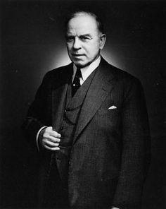 The Right Honourable William Lyon Mackenzie King.  #wikitree #genealogy #canadian