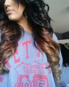 Ombre Hair very nicely done!