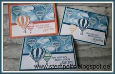 Stempel, Farben & Spaß: Abgehoben mit den Heißluftballons von Stampin' UP!...