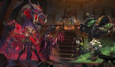 Blizzcon 2016 : All Concept Art and Key Art