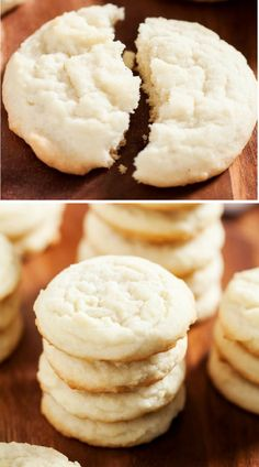 No-roll, no-cut, and no-chill Amish sugar cookies will become your go-to recipe for your next potluck or bake sale. This modern adaptation of Amish sugar cookies produces the softest, no-fuss sugar cookies that will ever come out of your oven, just like grandma used to make! Visit iamhomesteader.com for more delicious mouth watering recipes and fresh from garden meals!