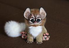 Cat Dragon by Santani.deviantart.com on @DeviantArt