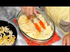 Lasanha de Frango com molho de Cream Cheese - Receitas de Minuto #52