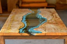 Furniture with Rivers of Glass Running Through Them by Greg Klassen (2)