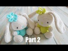 Tutorial #213: Aprende a tejer lindos amigurumis de conejitos | CTejidas