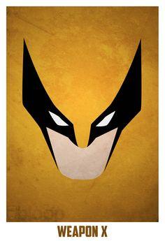 40 Minimalist Superhero Portrait Illustration Design From Marvel To DC
