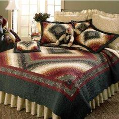 Donna Sharp Spice Postage Stamp Bedding by Donna Sharp Bedding,