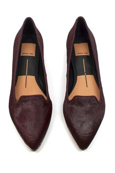 These Pony Hair flats are the cutest.