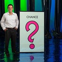 Our Monopoly Chance Standee shows off the hot pink question mark on a light green background. Monopoly Themed Parties, Monopoly Party, Monopoly Game, Monopoly Board, Party Props, Party Games, Game Night Decorations, Life Size Games, Game Night Parties
