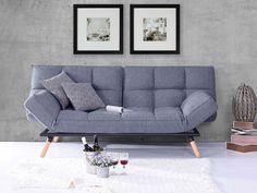 Rozkładana sofa Fenna, 3 osobowa, x x cm - niebieska Sofas, Love Seat, Couch, Interior, Inspiration, Furniture, Home Decor, Trendy Tree, Ikea Sofa Bed