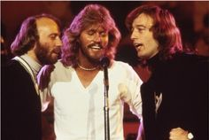 Maurice and Robin Gibb, with Barry. In my mind the three of them are always together . . .
