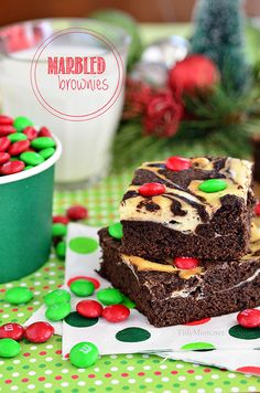 Marbled Brownies - A Little Craft In Your DayA Little Craft In Your Day
