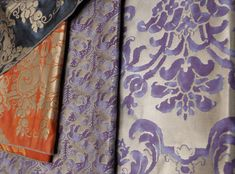 Fortuny Fabrics GENIUS! A home without a spot of FORTUNY is missing Glamor!