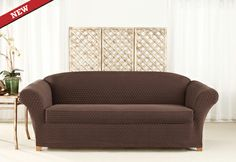 Sure Fit Slipcovers Stretch Nouveau Separate Seat Slipcovers - Sofa