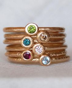 Put on a stack that shimmers. #EtsyJewelry