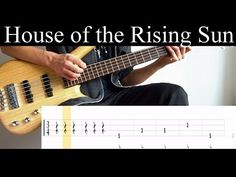 Bass Guitar Notes, Guitar Tips, House Of The Rising Sun, Music Stuff, Leo, Sunrise, Songs, Cover, Apps
