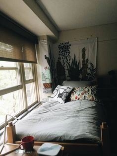 bedroom aesthetic — wave-of-life: Dorm room this morning before...