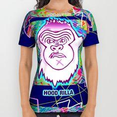 Bwilly Bwightt's Circus Member - Hood Rilla (Remixed) All Over Print Shirt