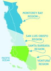 Central CA Coast Maps and Itineraries Camarillo vacation! Lets go Silbermann M California Coast, California Travel, Rv Travel, Family Travel, Pacific Coast Highway, Highway 1, San Francisco Travel, Monterey Bay, Central Coast