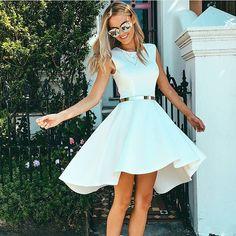 vestido blanco para boda civil