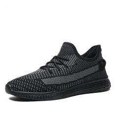 VRYHEID-New-Mesh-Men-Casual-Shoes-Lac-up-Summer-Running-Men-Shoes-Lightweight-Breathable-Comfortable-Walking-510x510 Men Sneakers, All Black Sneakers, Casual Shoes, Men Casual, Running Man, Men's Shoes, Walking, Mesh, Summer