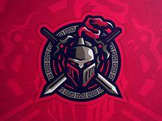 Vector Logos, Logo Dragon, Warrior Logo, Hero Logo, Knight Logo, Creepy Drawings, Youtube Logo, Esports Logo, Armor Concept