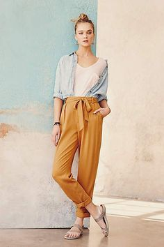 South Coast Joggers - anthropologie.com #anthrofave #anthropologie