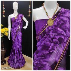 Sarees CLassy women saree Saree Fabric: Lycra Blouse: Running Blouse Blouse Fabric: Lycra Pattern: Printed Multipack: Single Sizes:  Free Size (Saree with running blouse length size :6.03mtr) Country of Origin: India Sizes Available: Free Size   Catalog Rating: ★4.1 (458)  Catalog Name: Kashvi Ensemble Sarees CatalogID_1106257 C74-SC1004 Code: 745-6928250-5931