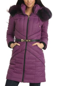 Canada Goose mens replica shop - HAPPY GOAT LUCKY Down Coat with Fox Fur Collar $299 I love the ...