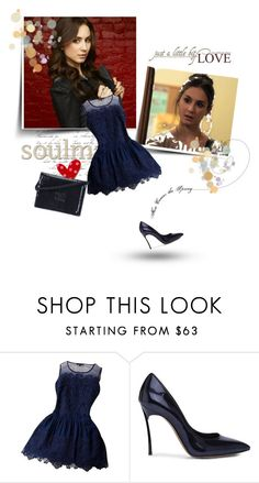 """Spencer Hastings"" by tess-302 ❤ liked on Polyvore featuring Amie, Boutique, Casadei, Chanel, PrettyLittleLiars, pll, spencerhastings, redcoat and WhoIsA"