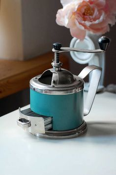 Mechanical vintage coffee grinder