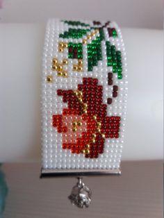Loom beaded bracelet Romanian folklore bracelet Romanian