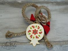 Picture of Χριστουγεννιάτικο διακοσμητικό κρεμαστό ρόδι