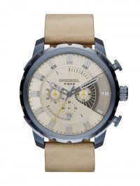 Diesel DZ4354 Men's Stronghold Stainless Steel Watch with Gray L