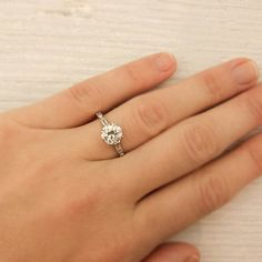 Gorgeous engagement ring...