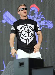 Diplo at the Day 1 of New Look Wireless Festival 2015...