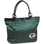 Green Bay Packers Quilted Tote Bag at the Packers Pro Shop