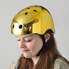 Bobbin Gold Helmet   Cyclechic   Cyclechic