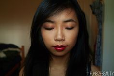 Flawless skin and red lips. fun size beauty: COPYCAT: Miley Cyrus We Can't Stop Makeup Look