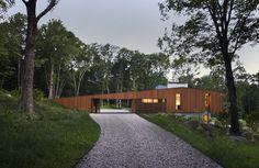The Bridge House by Joeb Moore + Partners Architects #WoodLovers #architecture #design #house #bridge