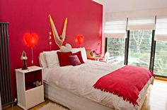 Bedroom Ideas for Teen Girls Designs//love some of the furniture and shelving in these rooms!!