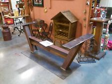 Antique Furniture I-beam Industrial Table Base Steampunk Machinery Repurpose