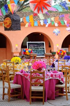 Authentic Mexican fiesta at Cuixmala, Mexico Designed and produced by Marianne Weiman Nelson, Special Occasions Event Planning Mexican Birthday Parties, Mexican Fiesta Party, Fiesta Theme Party, Fiesta Decorations, Wedding Decorations, Quinceanera Decorations, Mexican Themed Weddings, Quinceanera Party, Mexican Style