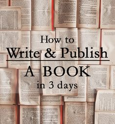 Sam Priestley loves to tell people how easy it is to publish a book nowadays. He believes that self-publishing is a modern day gold rush, one that you should be getting in on.