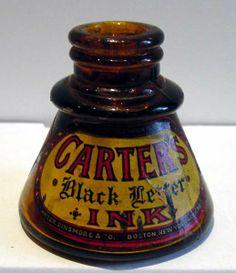 Antique Carter's Ink Bottle