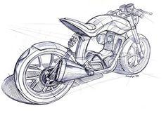 Ruby-Rear-Sketch: - Drawings (not mine, just inspiration) - Motorrad Motorcycle Art, Motorcycle Design, Bike Art, Bike Design, Futuristic Motorcycle, Bike Sketch, Car Sketch, Industrial Design Sketch, Car Design Sketch