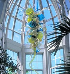 Garden Exhibition at Franklin Park Conservatory, Columbus, Ohio.