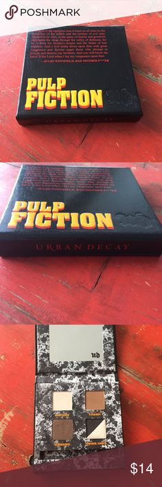 "Selling this Urban Decay ""pulp fiction"" palette on Poshmark! My username is: mexipinamerch. #shopmycloset #poshmark #fashion #shopping #style #forsale #Urban Decay #Other"