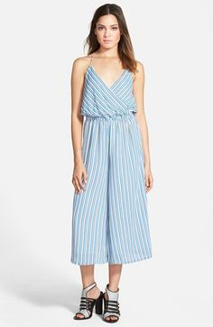 STOREE Stripe Gaucho Romper available at #Nordstrom